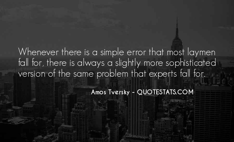 Amos Tversky Quotes #1272421