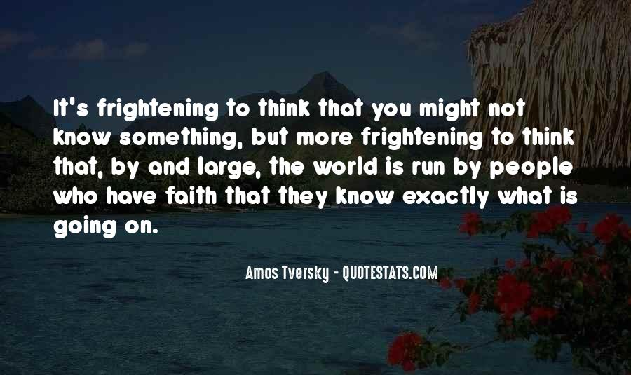 Amos Tversky Quotes #625361