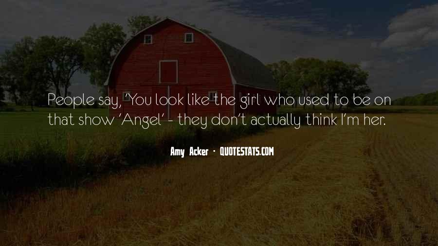 Amy Acker Quotes #1236384