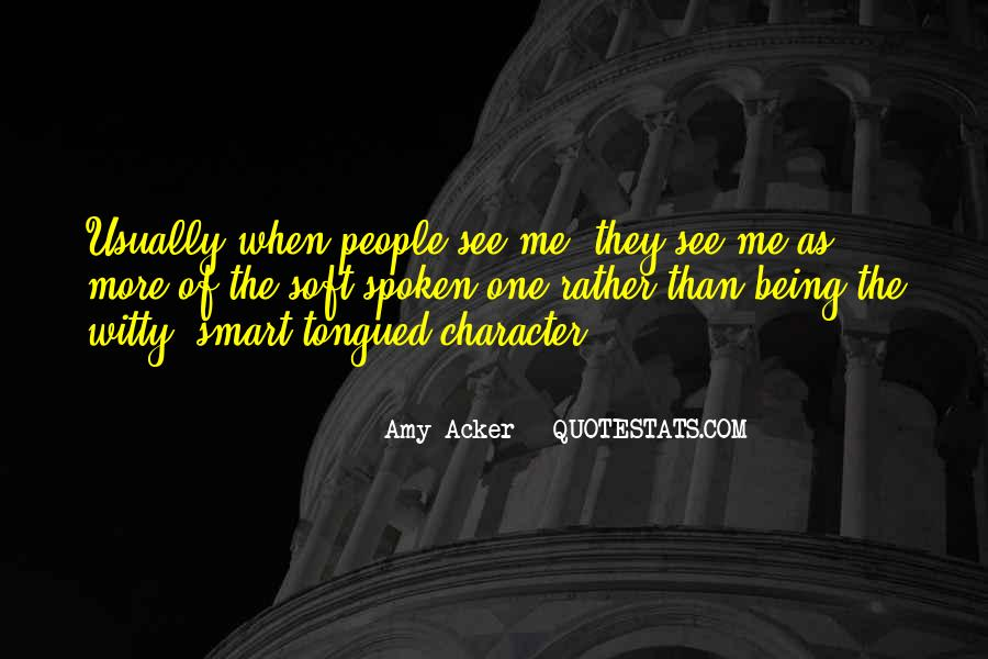 Amy Acker Quotes #389887