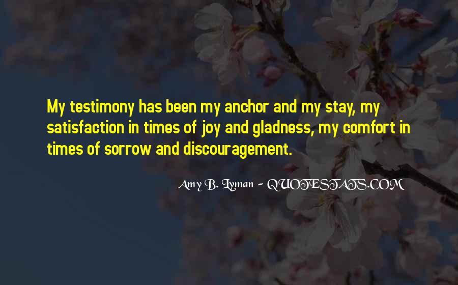Amy B. Lyman Quotes #552705