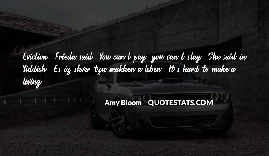 Amy Bloom Quotes #1073153