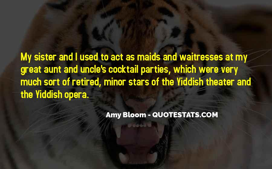 Amy Bloom Quotes #1209340