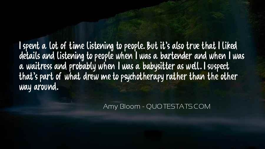 Amy Bloom Quotes #1223745