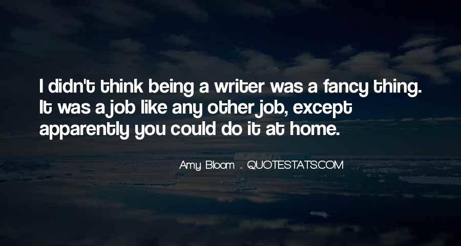 Amy Bloom Quotes #1381595