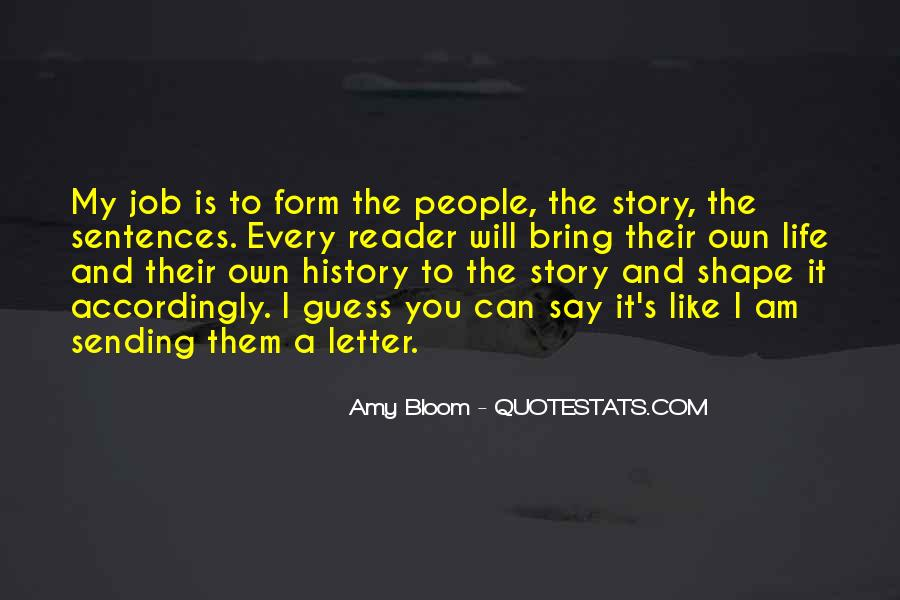 Amy Bloom Quotes #1759646