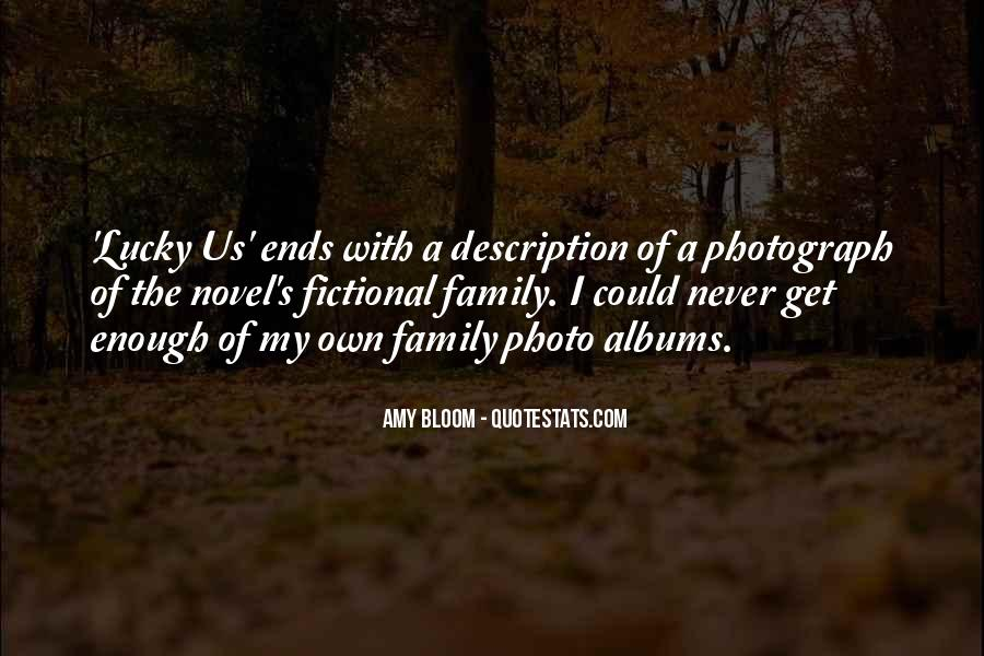 Amy Bloom Quotes #1852015