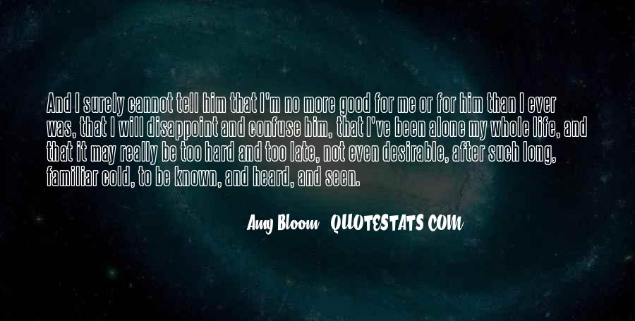 Amy Bloom Quotes #196505