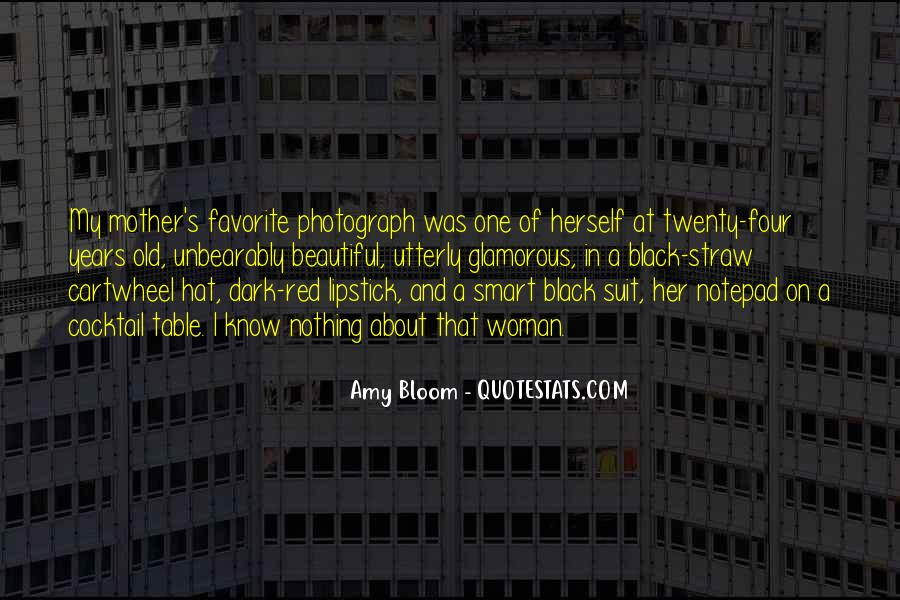 Amy Bloom Quotes #204764