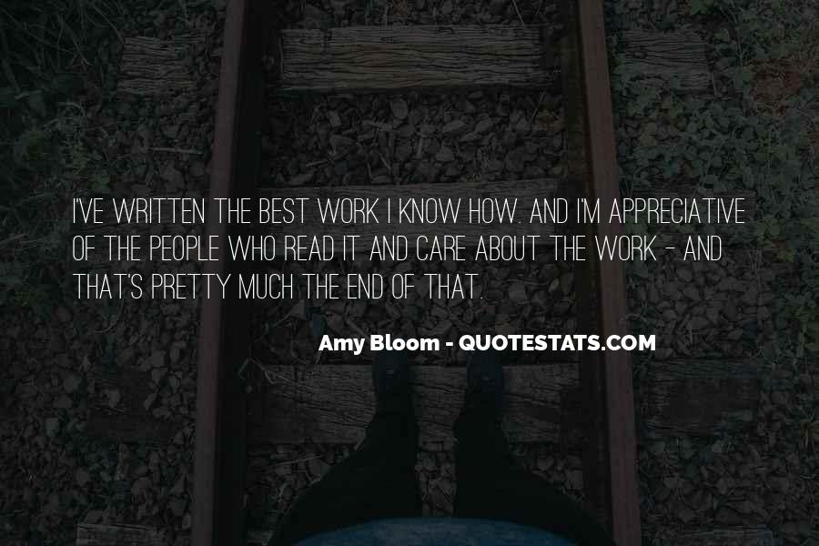 Amy Bloom Quotes #395435