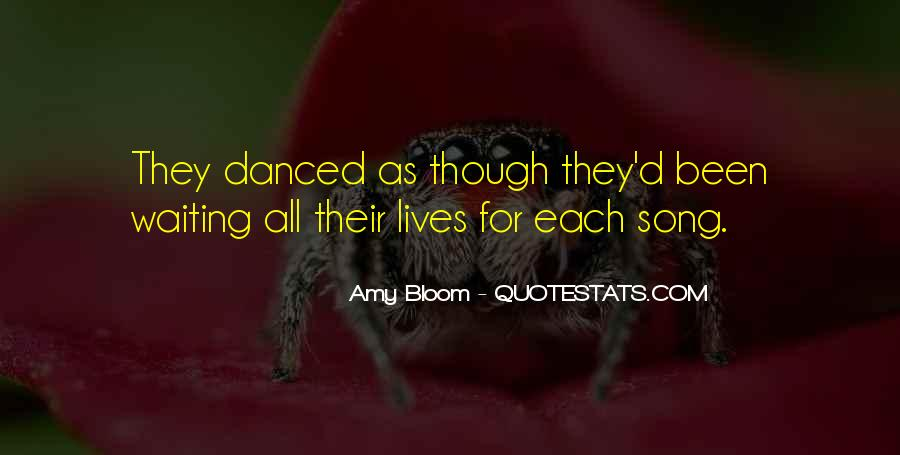 Amy Bloom Quotes #460426