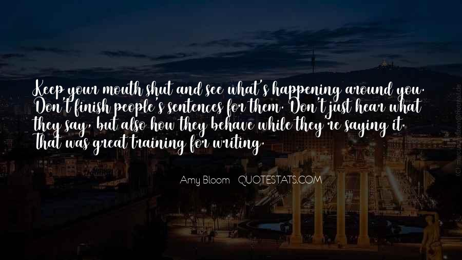 Amy Bloom Quotes #522941