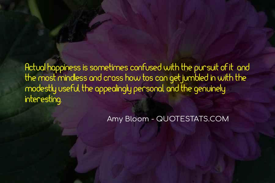 Amy Bloom Quotes #612736