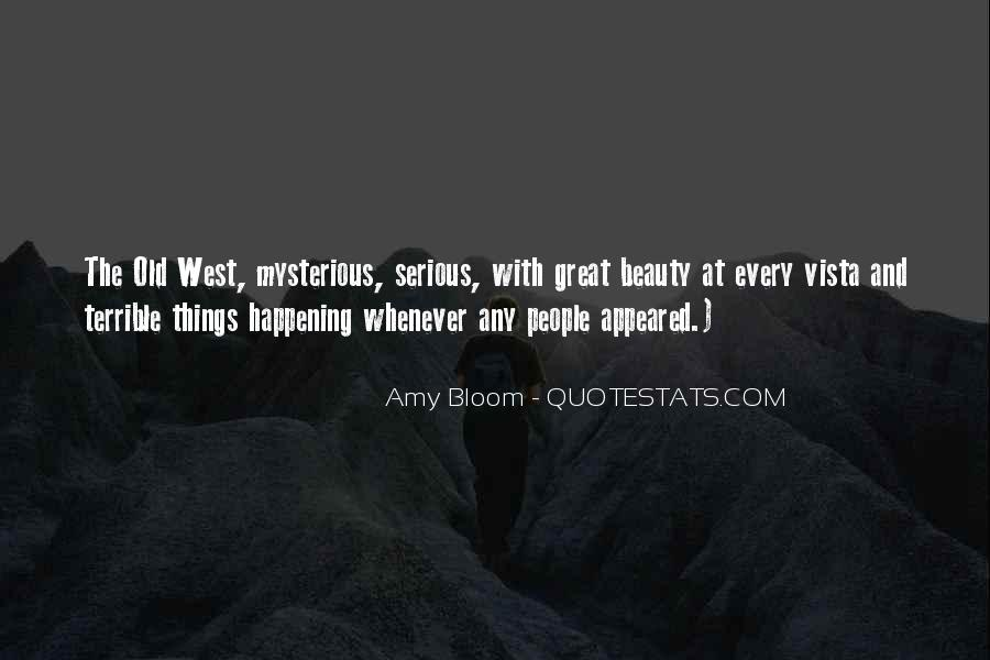 Amy Bloom Quotes #680759