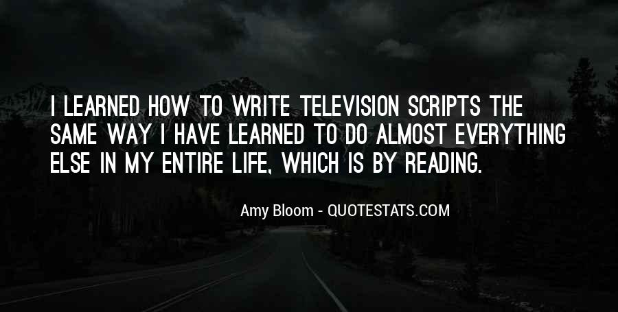 Amy Bloom Quotes #706585