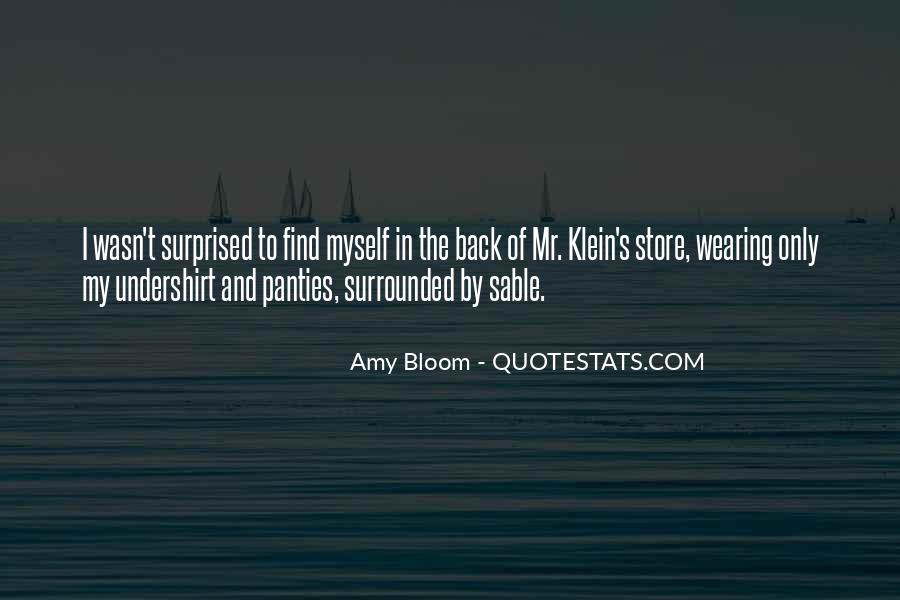 Amy Bloom Quotes #77801