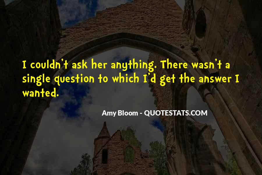 Amy Bloom Quotes #782424
