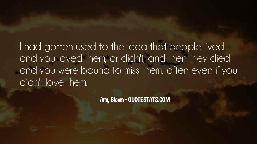 Amy Bloom Quotes #924165
