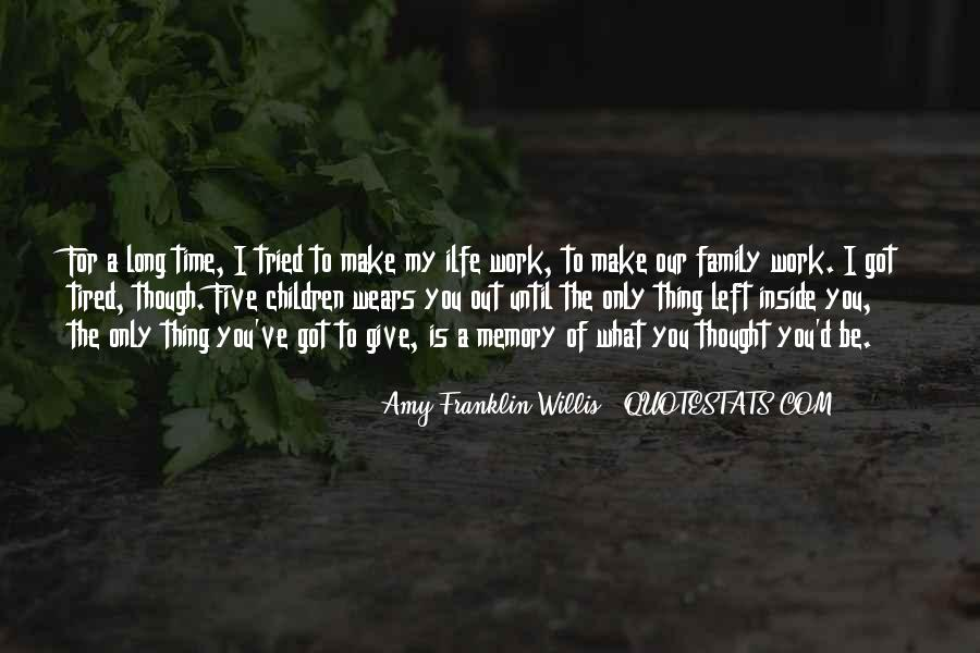 Amy Franklin-Willis Quotes #251907