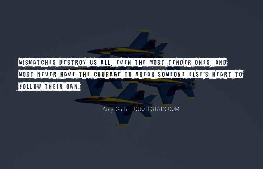 Amy Guth Quotes #911684