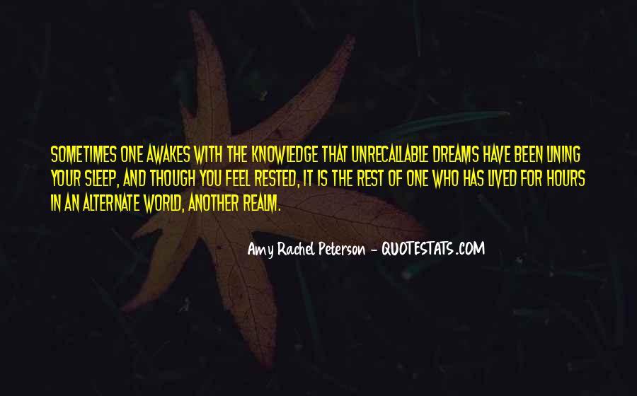 Amy Rachel Peterson Quotes #987352