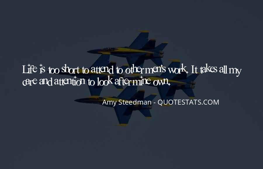 Amy Steedman Quotes #1358310