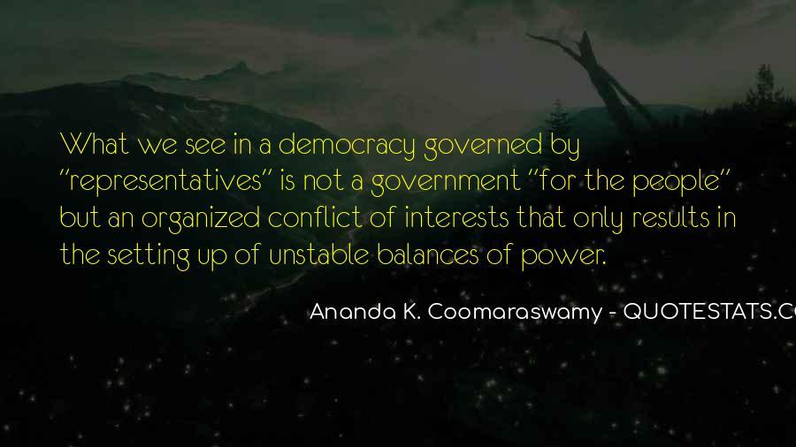 Ananda K. Coomaraswamy Quotes #1873305