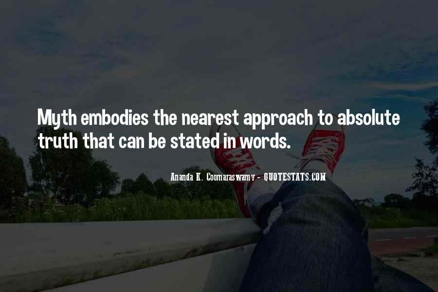 Ananda K. Coomaraswamy Quotes #837772