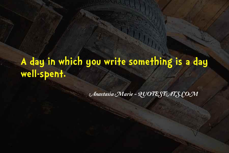 Anastasia Marie Quotes #711691