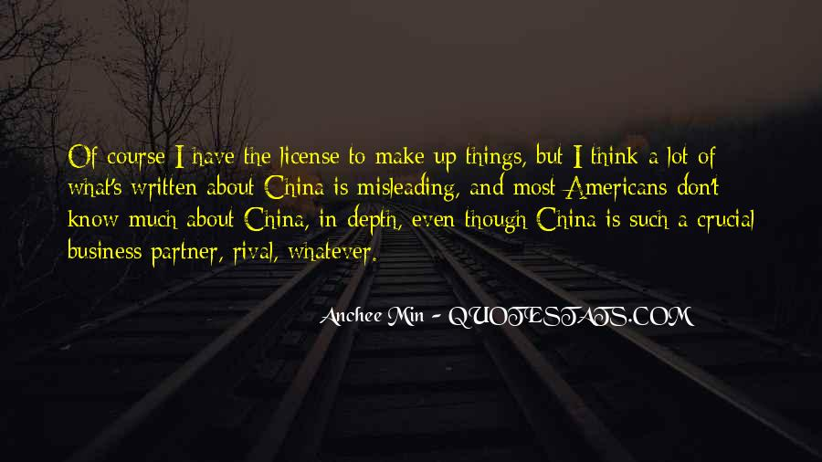 Anchee Min Quotes #1745968