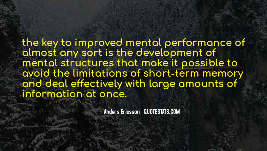 Anders Ericsson Quotes #161671