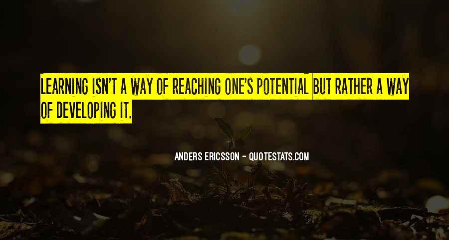 Anders Ericsson Quotes #1739867