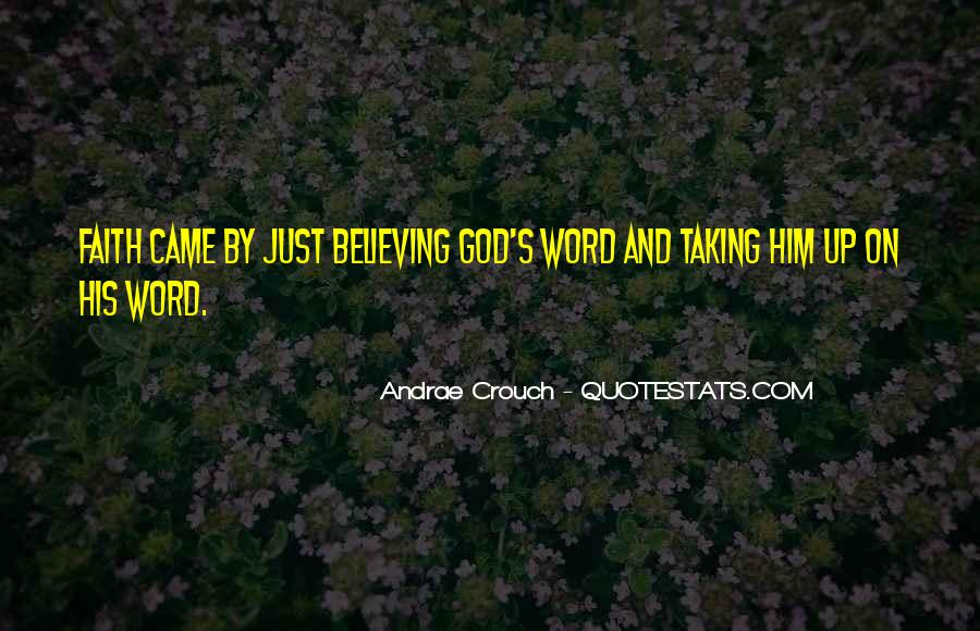 Andrae Crouch Quotes #1272804