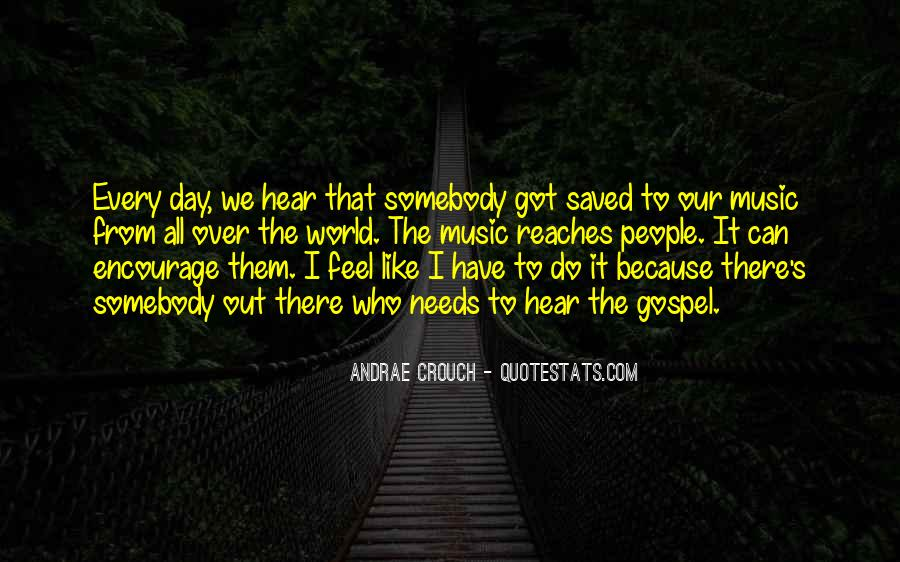 Andrae Crouch Quotes #1628534