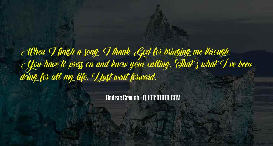 Andrae Crouch Quotes #947768
