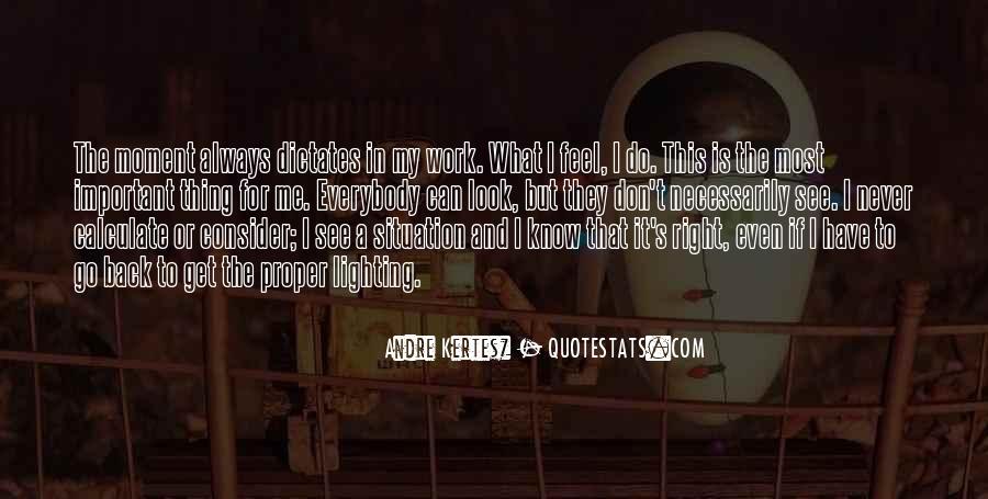 Andre Kertesz Quotes #1863927