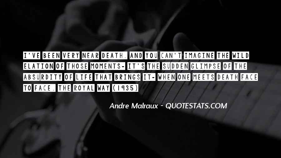 Andre Malraux Quotes #50456