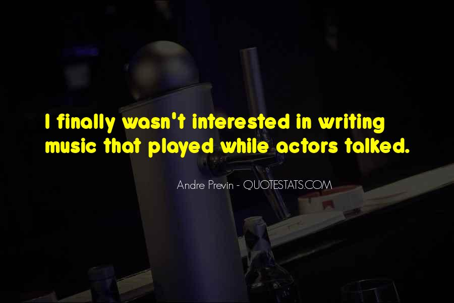 Andre Previn Quotes #307658
