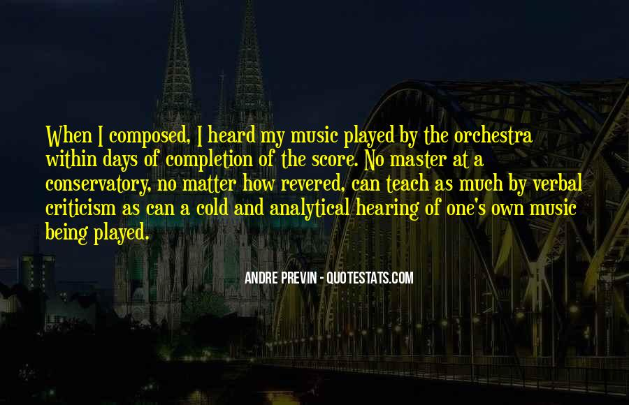 Andre Previn Quotes #605972