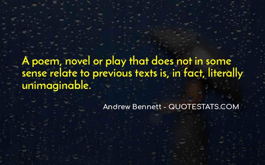 Andrew Bennett Quotes #1141547