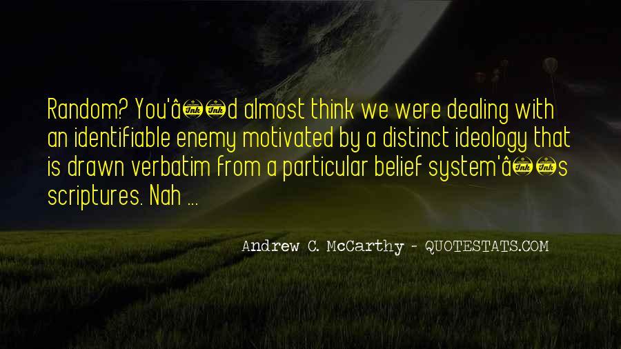 Andrew C. McCarthy Quotes #878098