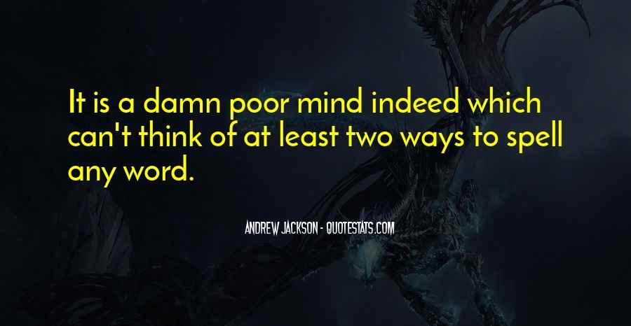 Andrew Jackson Quotes #1167089