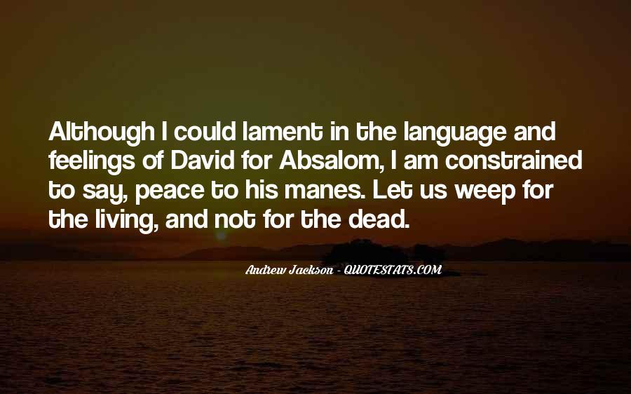 Andrew Jackson Quotes #1343814