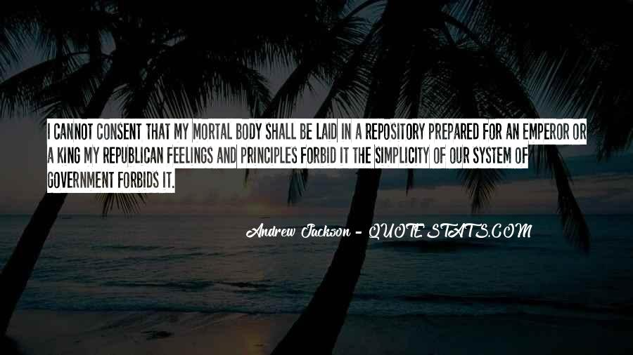 Andrew Jackson Quotes #1536374