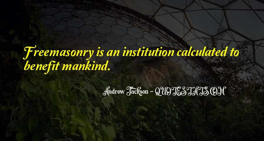 Andrew Jackson Quotes #1649541