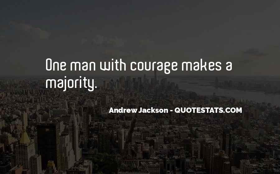 Andrew Jackson Quotes #1709480