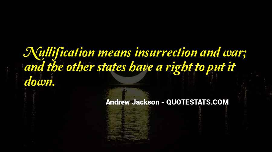 Andrew Jackson Quotes #1726155