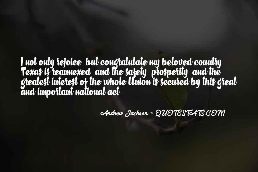 Andrew Jackson Quotes #1747526
