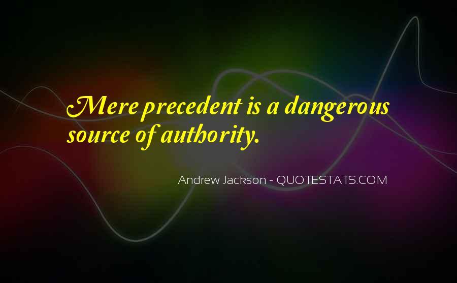 Andrew Jackson Quotes #175033