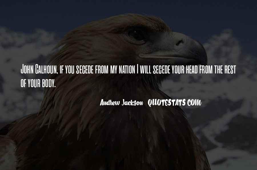 Andrew Jackson Quotes #1751008